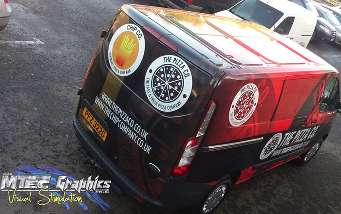 Commercial Vehicle Livery Mtec Graphics